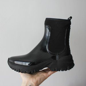 Lemon Jelly Cheryl Vegan Black Rain Boots